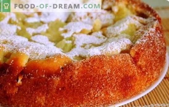 Melon Pie - justifiez tous les coûts! Recettes pour gâteaux tendres au melon tendres et friables pour le thé maison