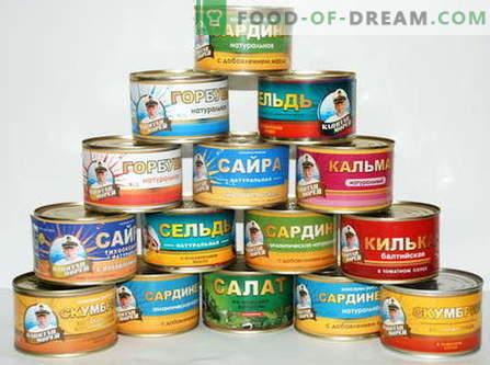 Plats à partir de poisson en conserve - les meilleures recettes. Ce qui peut être cuit à partir de poisson en conserve.