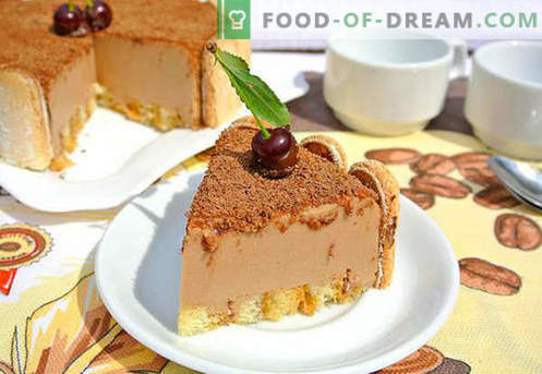 Cake soufflé - les meilleures recettes. Comment cuire rapidement et savourer un soufflé.