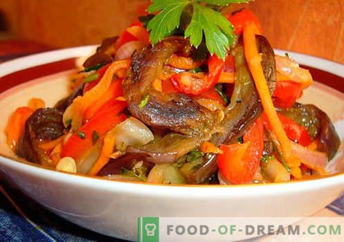 Salades épicées - une sélection des meilleures recettes. Comment cuire correctement et savoureux des salades épicées.