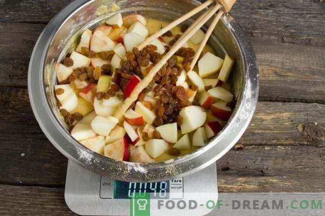 délicieuse tarte aux pommes et à la noix de coco