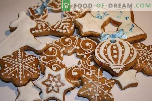 Biscuits pour le Nouvel 2019: arômes d'épices et souhaits chaleureux