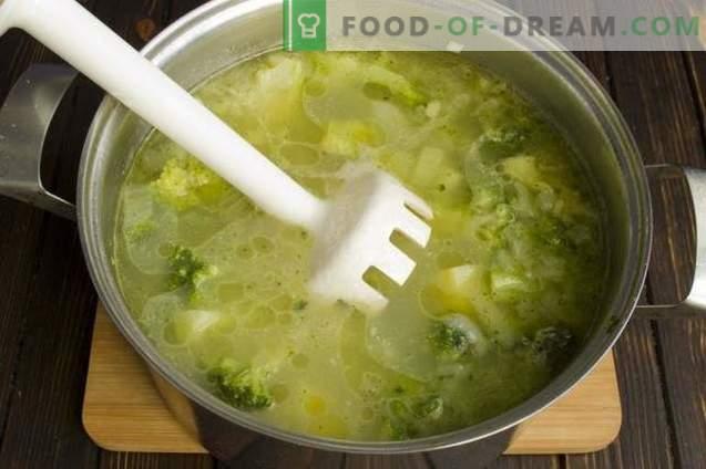 Velouté de brocoli diététique
