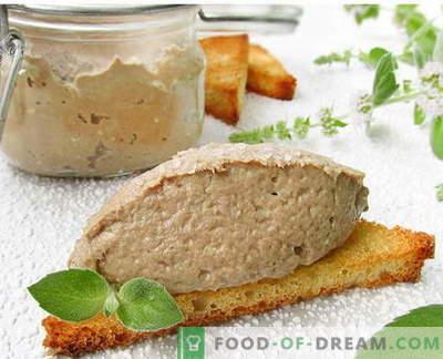 Pate de poisson - les meilleures recettes. Comment cuire correctement et savoureux pâté de poisson.