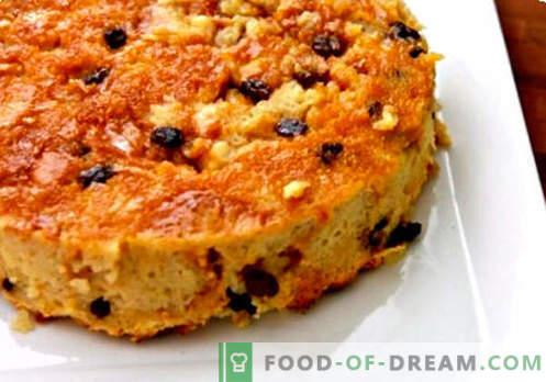 Pudding dans une mijoteuse - les meilleures recettes. Comment faire cuire correctement le pudding dans une mijoteuse