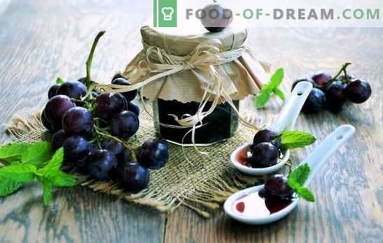 Confiture de raisin - raffinement et simplicité, charme et fraîcheur toute l'année! Il fait mauvais dehors et nous avons chaud avec de la confiture de raisin, voilà le bonheur!