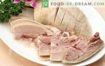 Tacchino bollito: un uccello dietista può essere delizioso! Ricette eccellenti tacchino bollito, oltre a segreti di cucina