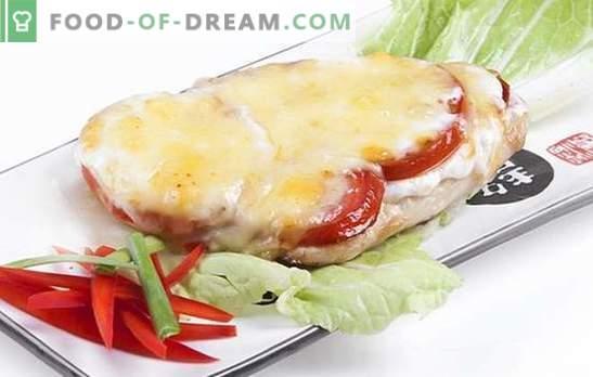 Le filet de poulet au fromage est un plat savoureux pour tous les jours et les jours fériés. Les meilleures recettes de filet de poulet au fromage: quel fromage faut-il choisir?