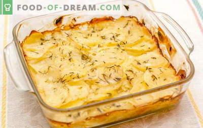 Les pommes de terre à la crème sure au four sont le «roi» des légumes sur votre table. Recettes préférées pour les pommes de terre à la crème sure