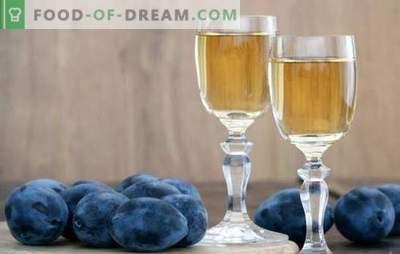 Vin de prune à la maison: je ne sais pas comment - nous allons enseigner! Caractéristiques de la préparation de ce vin de prune à la maison