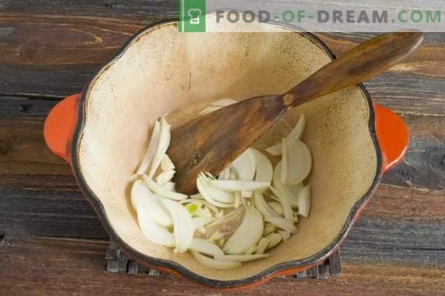 Les ragoûts de poulet cuits à la vapeur dans la crème sure