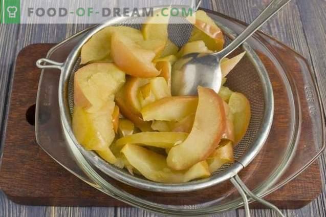 Souffle aux pommes à la gélatine