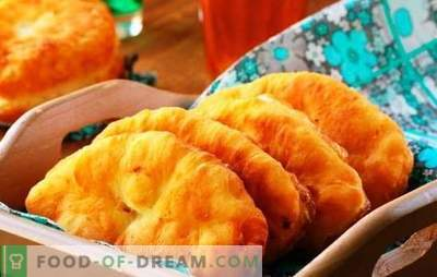 Fried apple pies - classic and original recipes. Cooking fried pies with apples is a pleasant experience