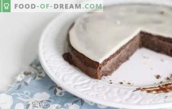 Le glaçage à la crème sure est un excellent ajout à la cuisson à la maison. Les meilleures recettes de glaçage à la crème sure avec cacao, jus de citron, chocolat