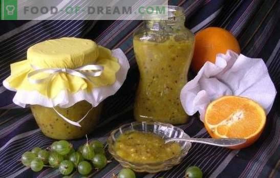 La confiture de groseilles à la chair d'oranges est un mets délicat et parfumé. Recettes simples et originales de confiture de groseille à la menthe