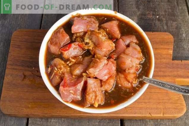 Porc aux choux de Bruxelles en chinois