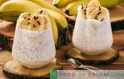 Le dessert à la banane est un festin 100% tropical. Recettes de desserts à la banane: créez une ambiance ensoleillée!