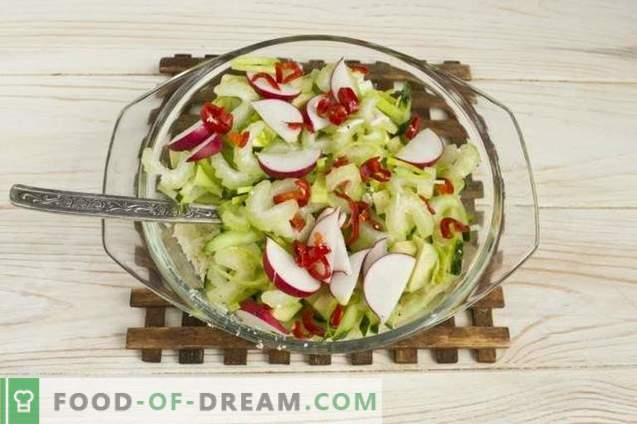 Seafood Salad with Avocado, Cucumber and Eggs