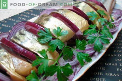 Maquereau épicé - les meilleures recettes. Comment cuire correctement et savoureux le maquereau épicé.