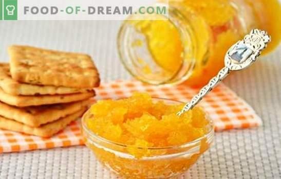 La confiture de courgettes à l'orange est un mets délicat. Une sélection des meilleures recettes de confiture de courgettes aux oranges