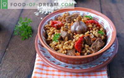 La bouillie d'orge avec viande est un plat savoureux et sain de la cuisine russe. Les meilleures recettes pour faire du porridge d'orge avec de la viande