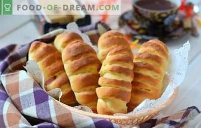 Muffins sans lait - des pâtisseries luxuriantes et rosées pour le thé! Variantes de muffins sans lait sur de l'eau, du ryazhenka et du kéfir avec différentes garnitures