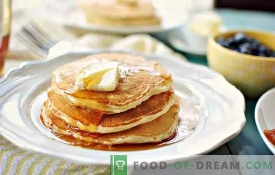 Les traditions de la cuisine slave: des crêpes au lait (étape par étape). Comment faire cuire des crêpes avec du lait: recettes étape par étape avec et sans levure