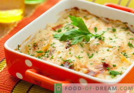 Les champignons avec du fromage sont les meilleures recettes. Comment bien et savoureux cuire les champignons avec du fromage.