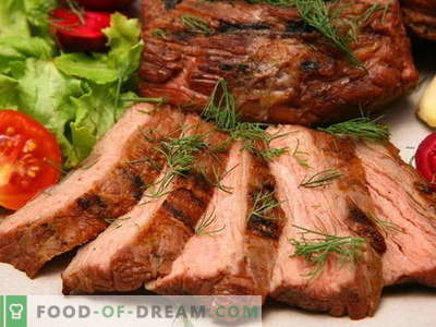 Meat baked in the oven - the best recipes. How to properly and tasty cook meat in the oven.