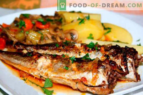 Maquereau avec pommes de terre - les meilleures recettes. Comment cuire correctement et savourer le maquereau avec des pommes de terre.