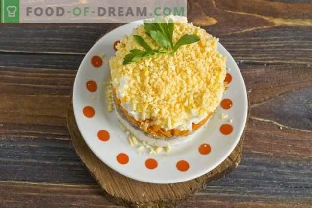 Salade de mimosa