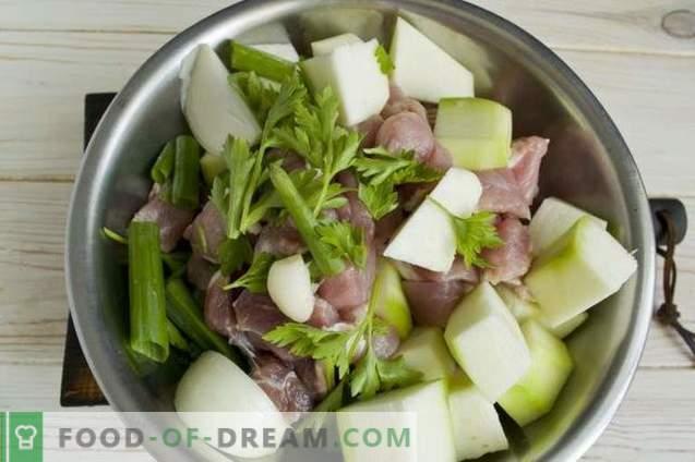 Délicieuses galettes de viande à l'avoine et aux légumes roulés
