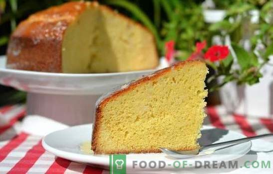 Biscuit à la vanille: la cuisine ne nécessite pas de compétences! Les meilleures recettes pour un biscuit à la vanille luxuriant et aéré sur du lait ou de la crème sure