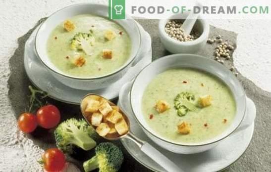 Minestre crema cremosa: tenerezza squisitamente deliziosa. Migliori ricette protette da copyright per le purea di patate semplici e veloci