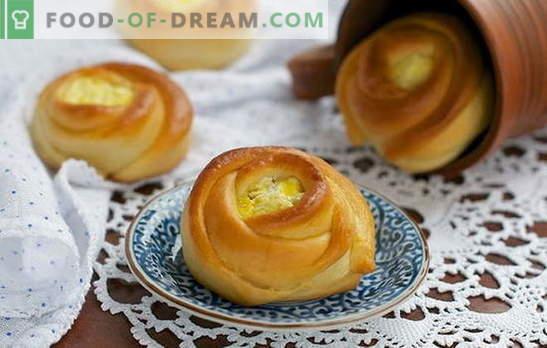 gâteaux au fromage faits maison - pour vos gourmands préférés! Cheesecake sucré et salé à la maison avec différentes garnitures