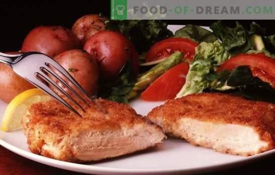Côtelettes de dinde: plat de viande tendre et sain. Une sélection de délicieuses recettes de côtelettes de dinde au quotidien
