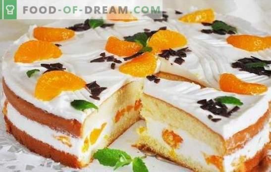 Crème au fromage cottage pour gâteau éponge - tendre et légère! Technologie de préparation et recommandations pour l'utilisation de la crème au caillé pour les gâteaux éponges