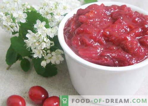 sauce aux canneberges - les meilleures recettes. Comment cuire correctement et savoureux sauce aux canneberges.