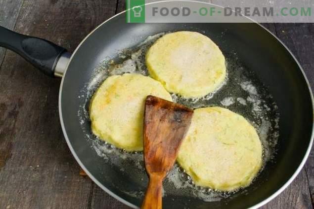 Côtelettes sur les tortillas de pommes de terre - pour surprendre les invités