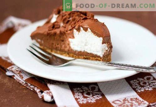 Cake Mousse - les meilleures recettes. Comment cuire correctement et savourer la mousse de gâteau.