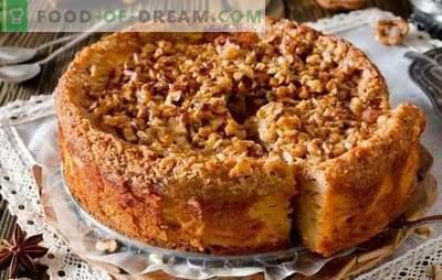 Gâteau rapide pour le thé - recettes pour les ménagères! Recettes pour gâteaux rapides pour le thé avec du fromage cottage, des pommes, du cacao, de la confiture et de la confiture