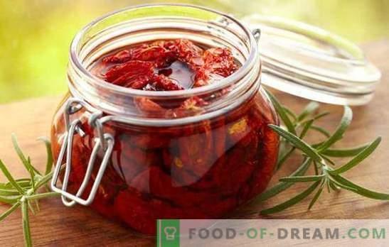 Pończochy cięte na zimę. Niezwykłe i codzienne przetwory pomidorowe z krojonych pomidorów na zimę: przepisy