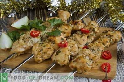 Chicken Kebabs in the Oven