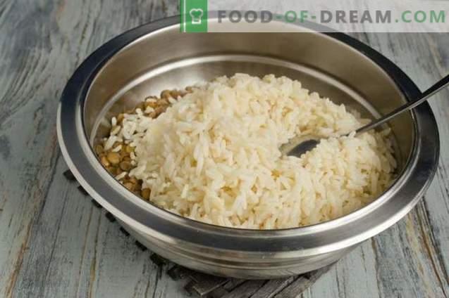 Mudjadara - riz aux lentilles