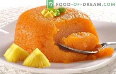 Il se trouve que c'est utile, c'est beau et délicieux - soufflé aux carottes. Recettes de soufflé aux carottes avec du fromage cottage, du poulet et des craquelins