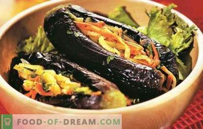 Aubergine farcie de légumes pour la collation prête pour l'hiver. Les meilleures recettes d'aubergines farcies de légumes pour l'hiver
