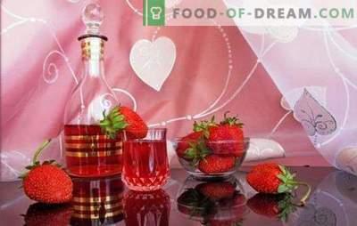 Comment faire du vin de fraise maison? Baie romantique et parfumée à la fraise recettes de vin maison