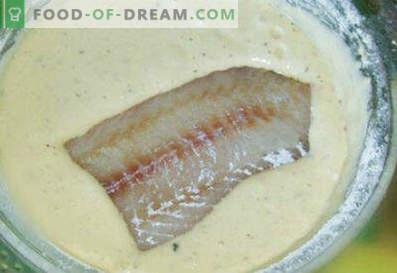 Comment faire une pâte de poisson - les meilleures recettes