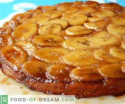 Banana cake - the best recipes. How to properly and tasty cook Banana cake.