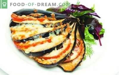 Méthodes de cuisson des aubergines avec du fromage et de l'ail. L'aubergine au fromage et à l'ail n'est pas seulement une collation, mais aussi un plat d'accompagnement